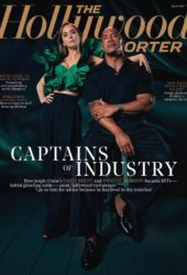 Emily Blunt and Dwayne Johnson in The Hollywood Reporter, July 2021