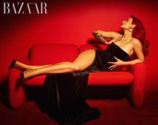 Iggy Azalea in Harper's Bazaar Magazine, Vietnam July 2021