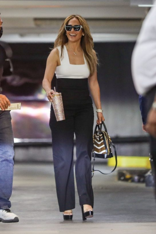 Jennifer Lopez Out and About in Los Angeles