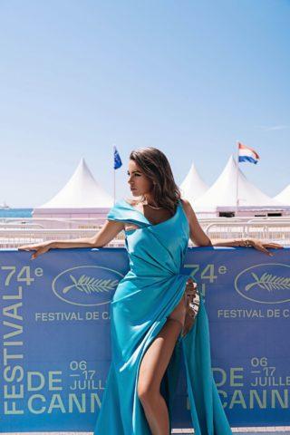 Nadine Mirada at Cannes Film Festival Instagram photos