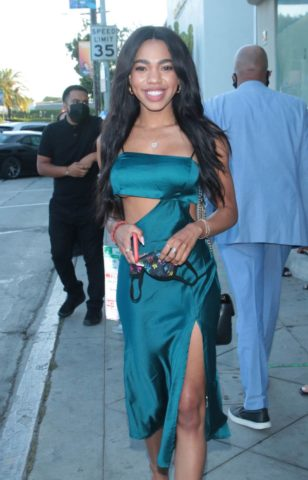 Teala Dunn Out and About in Los Angeles